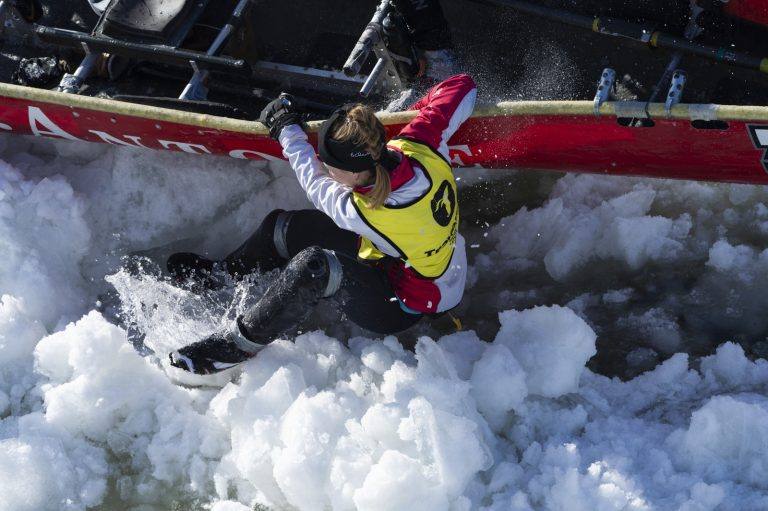 Course de canots à glace - Ville de Québec